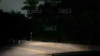 夜のドライブの写真・画像素材[4751422]
