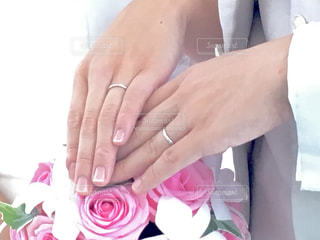 結婚式の誓いの1シーン - No.746426