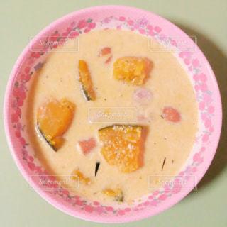 カボチャのスープの写真・画像素材[727392]