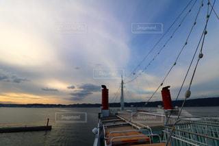 フェリーで桜島への写真・画像素材[867842]