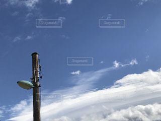 電柱と空と。 - No.801570