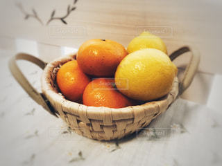 ミカンとレモンの写真・画像素材[1010479]