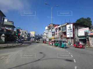 スリランカの町並みの写真・画像素材[685934]