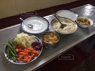スリランカの食事の写真・画像素材[685999]
