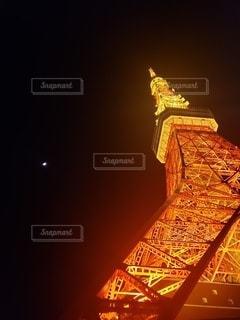 夜景デートスポット人気日本のシンボルタワーの写真・画像素材[2852164]
