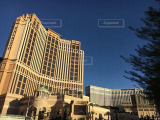 都市の大規模なタワーの写真・画像素材[749653]