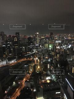 夜景 景色 タワー 高層ビル ロマンチックの写真・画像素材[678827]