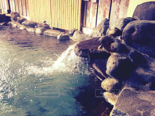 露天風呂の写真・画像素材[762855]