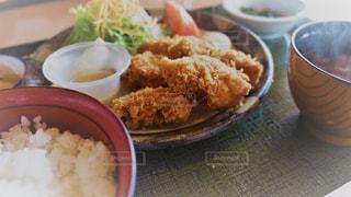 カキフライ定食の写真・画像素材[775086]