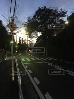 街の通りのビューの写真・画像素材[757109]