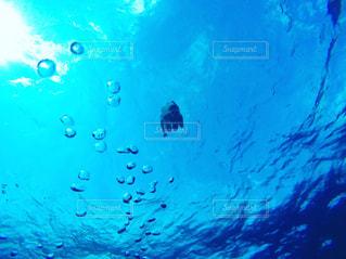 スイミング プールの水中ビューの写真・画像素材[794784]