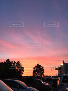 夕焼けの写真・画像素材[681692]