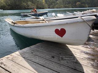 可愛いボートの写真・画像素材[2384831]