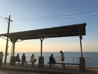 海がすぐの写真・画像素材[2385041]