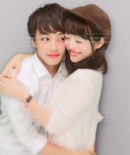 男と女の画像のポーズは - No.754950