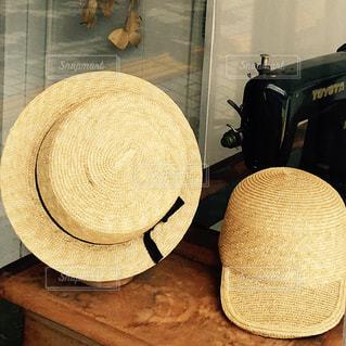 麦わら帽子の写真・画像素材[682579]