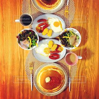 朝食の写真・画像素材[733722]