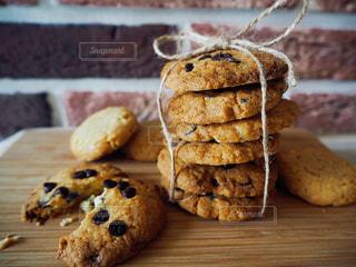 チョコチップクッキーの写真・画像素材[688032]
