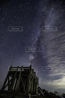 大台ケ原山の星空の写真・画像素材[712839]