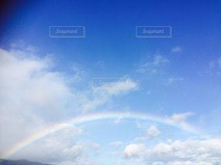虹空がかかる空の写真・画像素材[684262]