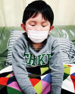インフルエンザですの写真・画像素材[1760209]