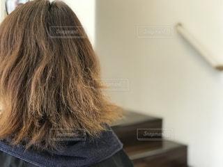 艶のある髪への憧れの写真・画像素材[1555115]