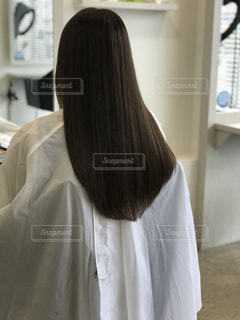 艶さらな髪の写真・画像素材[1743263]