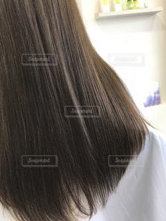 艶のある髪の写真・画像素材[1743265]