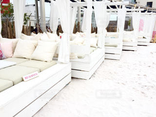その中に白い家具の写真・画像素材[935869]