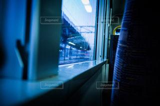 雨の窓にの写真・画像素材[684944]