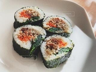 韓国料理キンパの写真・画像素材[4035221]