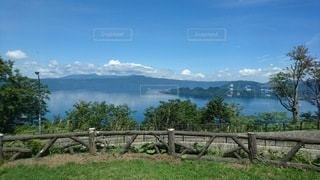湖の写真・画像素材[3526749]