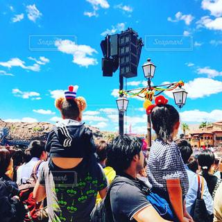 青空とショーの写真・画像素材[1423572]