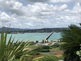沖縄 青い海の写真・画像素材[690197]