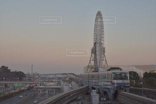 ららぽーとEXPOCITYの大きな観覧車の写真・画像素材[931446]