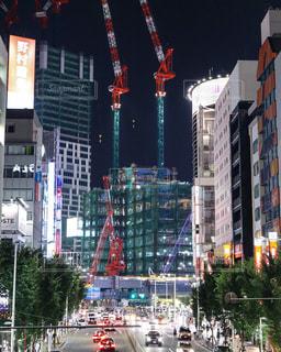 渋谷再開発の写真・画像素材[690480]