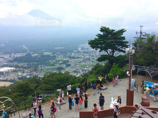 かちかち山から見た富士山の写真・画像素材[751260]
