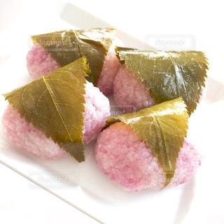 ひな祭り 自家製桜餅の写真・画像素材[1015889]