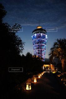 江の島灯篭の写真・画像素材[1373924]