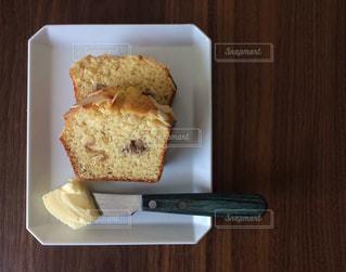 自家製パウンドケーキの写真・画像素材[2145477]