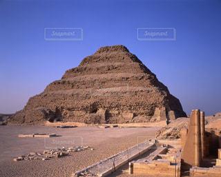 ジュセル王の階段ピラミッドの写真・画像素材[728103]