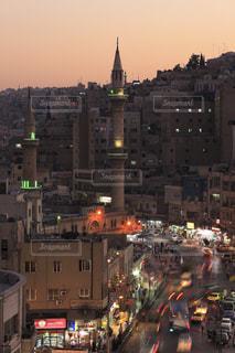 アル・フセイン・モスクの写真・画像素材[733904]