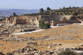 アルテミス神殿とローマ劇場の写真・画像素材[733917]