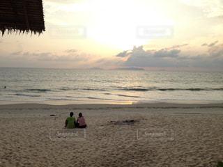 砂浜の写真・画像素材[691390]