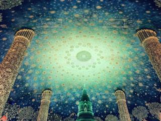 タワーのクローズアップの写真・画像素材[2122857]