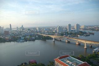 チャオプラヤー川の写真・画像素材[2122859]
