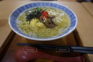 鶏飯ラーメンの写真・画像素材[1528611]