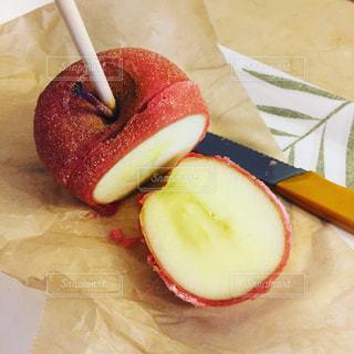 りんご飴の写真・画像素材[692570]
