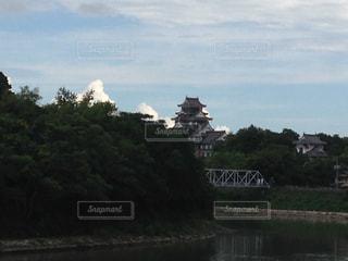 水の体の上の橋の写真・画像素材[761918]