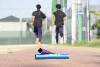 陸上競技の練習をする人 - No.770064